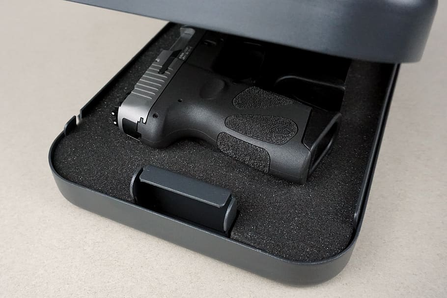 Gun Safety- Gun Safe